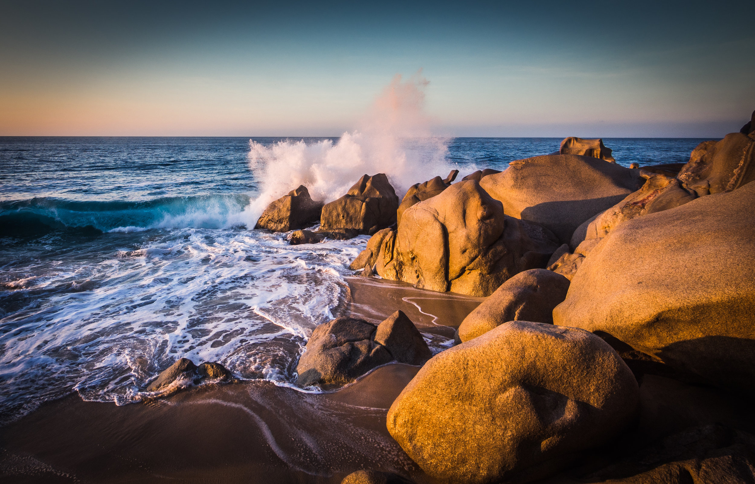Breaking Waves at Dawn - Cabo San Lucas-4608 x 3456.jpg