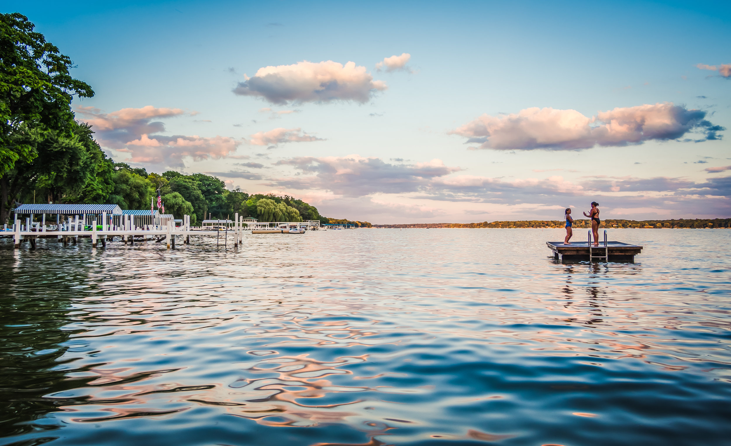 Knollwood Raft and Docks at Dusk-4426 x 2702.jpg