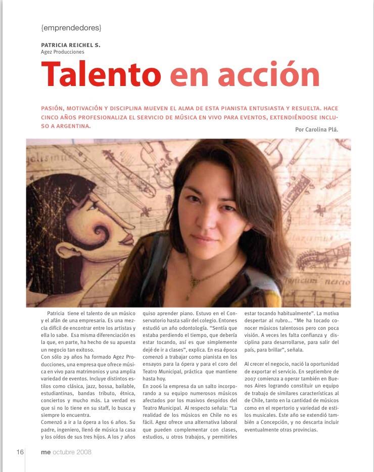 mujer empresaria chile