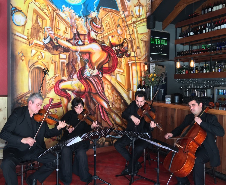 Cuarteto de cuerdas para eventos en Chile