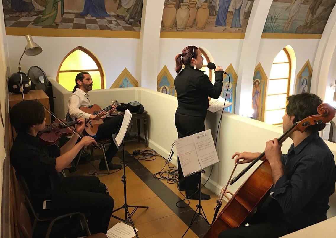 coro iglesia matrimonio