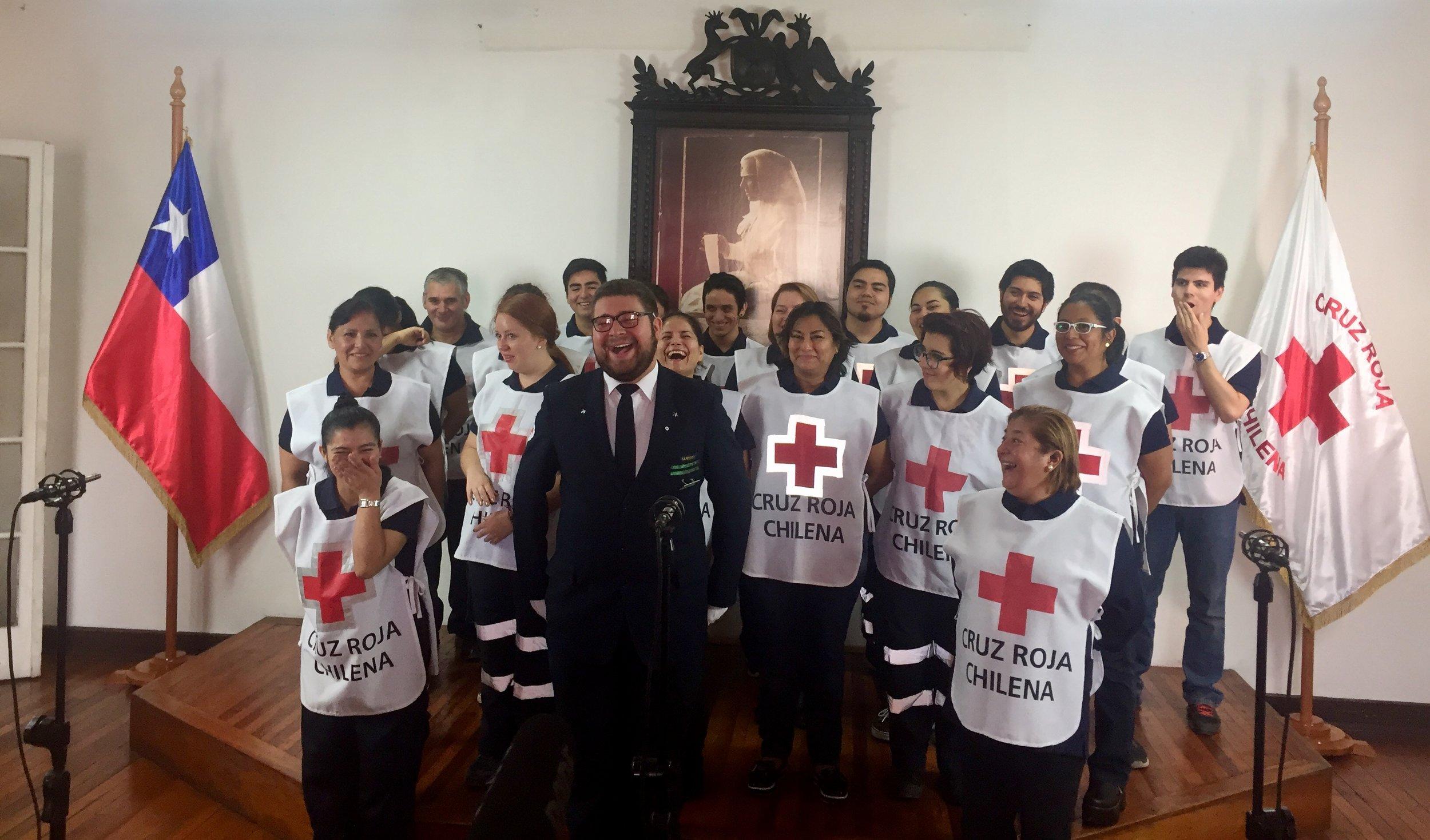 himno cruz roja chilena