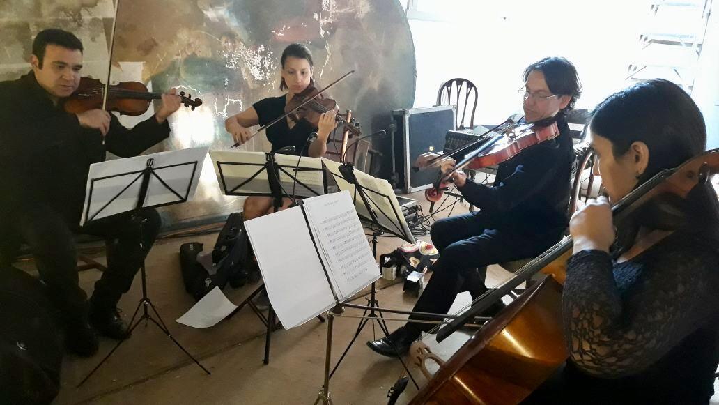 cuarteto de cuerdas viña santa rita matrimonio