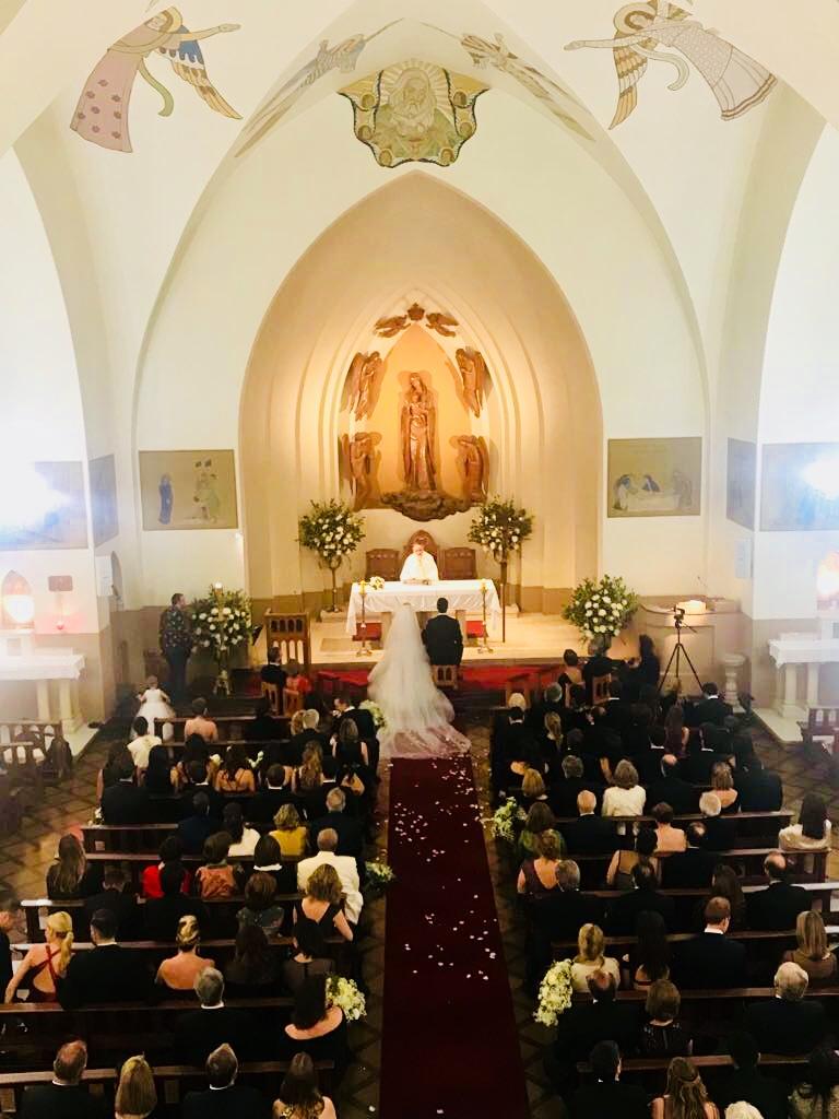 Iglesia nuestra señora de los angeles El Golf coro para matrimonio religioso ceremonia musicos agez chile