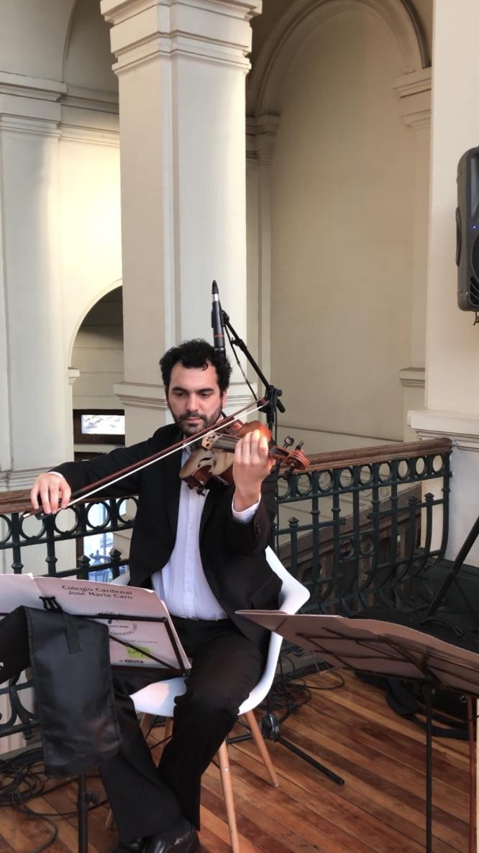 Viola Músicos para eventos Agez Chile