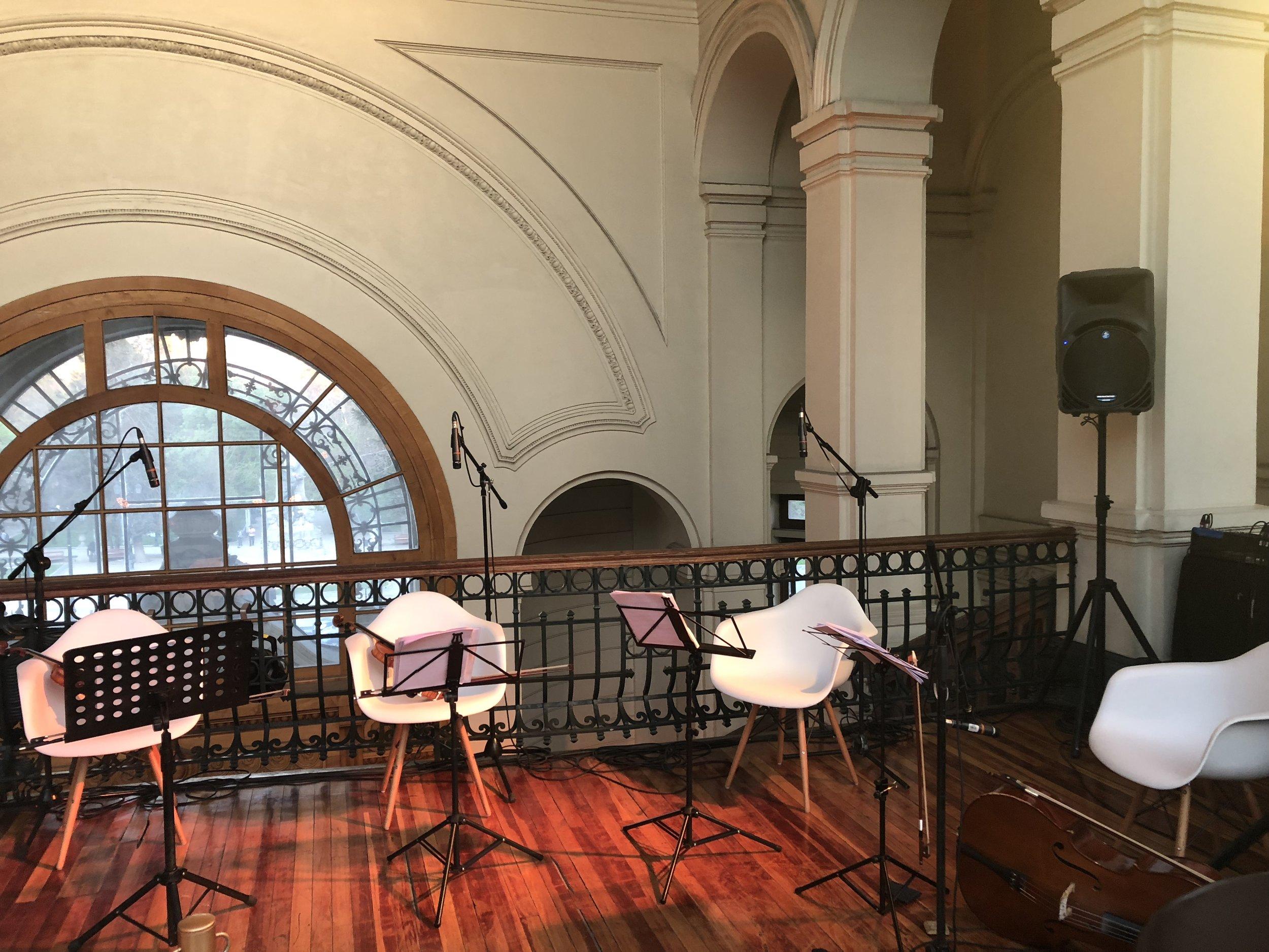 Museo Bellas Artes Músicos para eventos Agez Chile