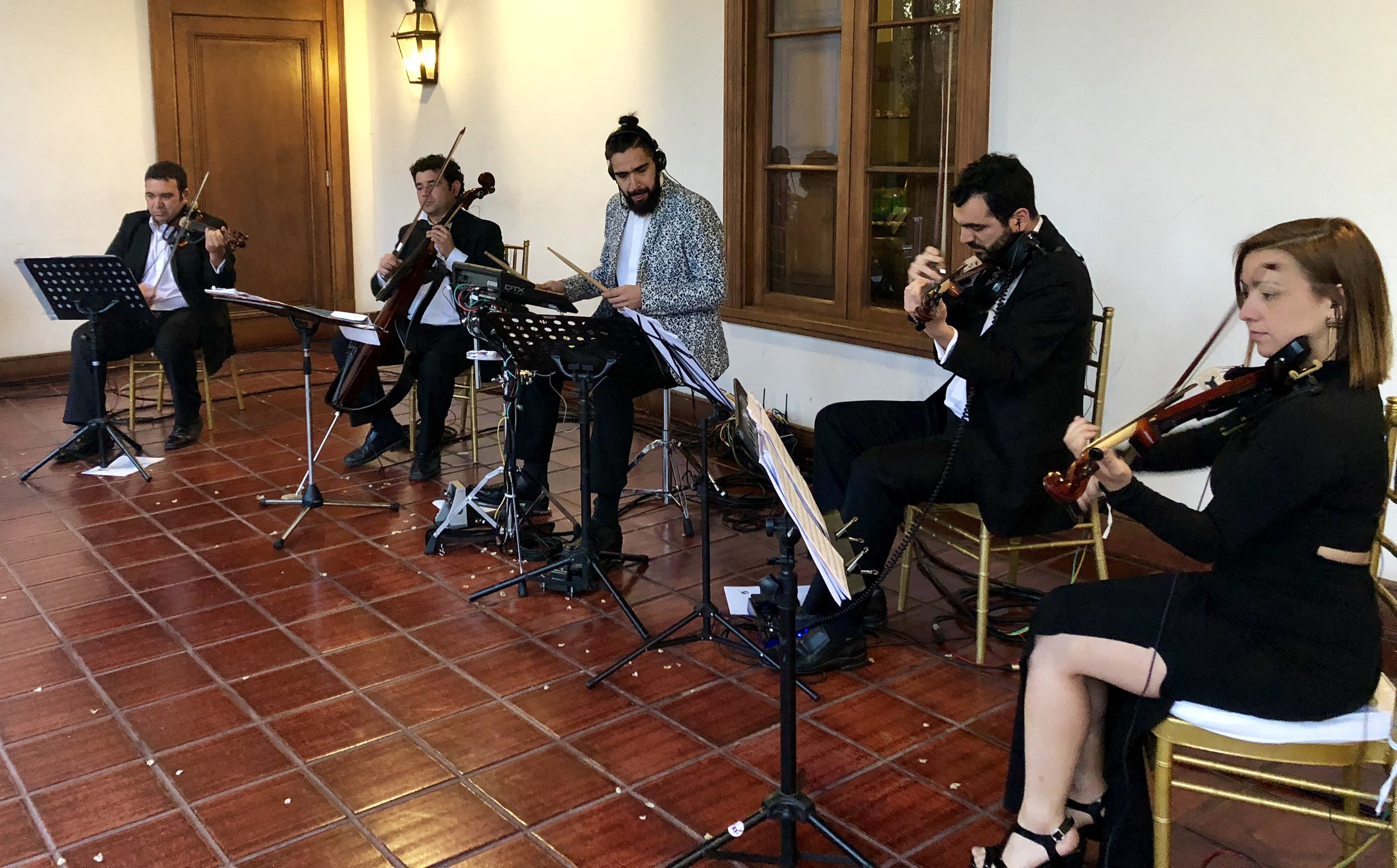 novios coro matrimonio música musicos en vivo chile casamento brasil