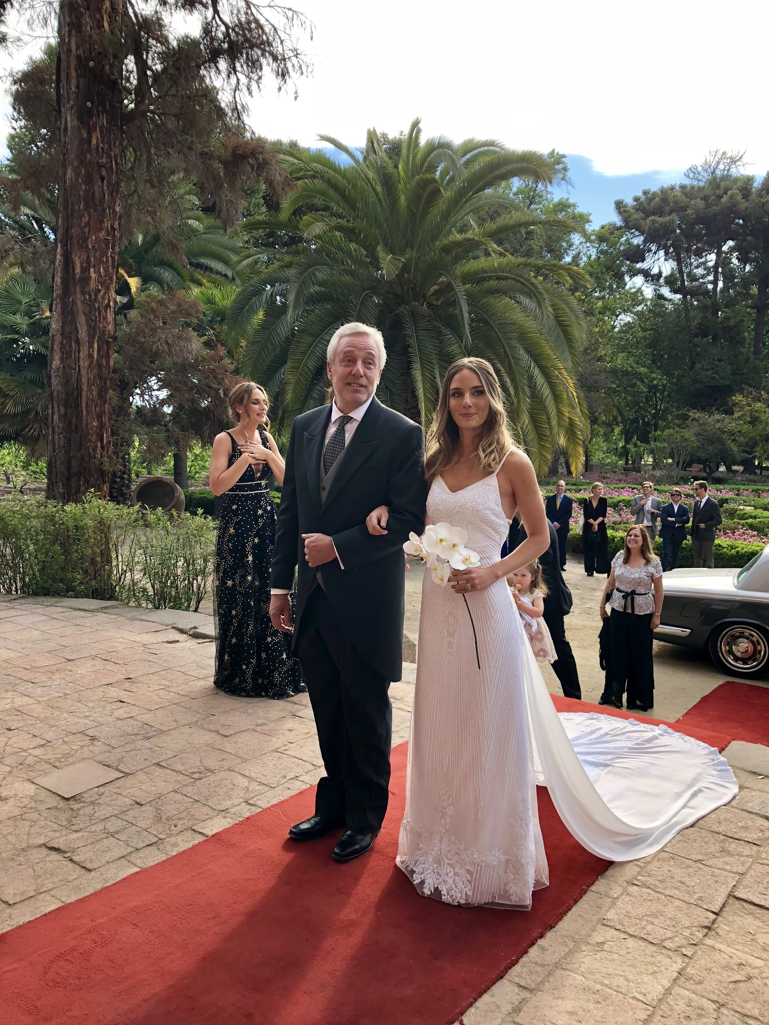 novia entrada viña santa rita buin alto jahuel chile agez musicos ceremonia