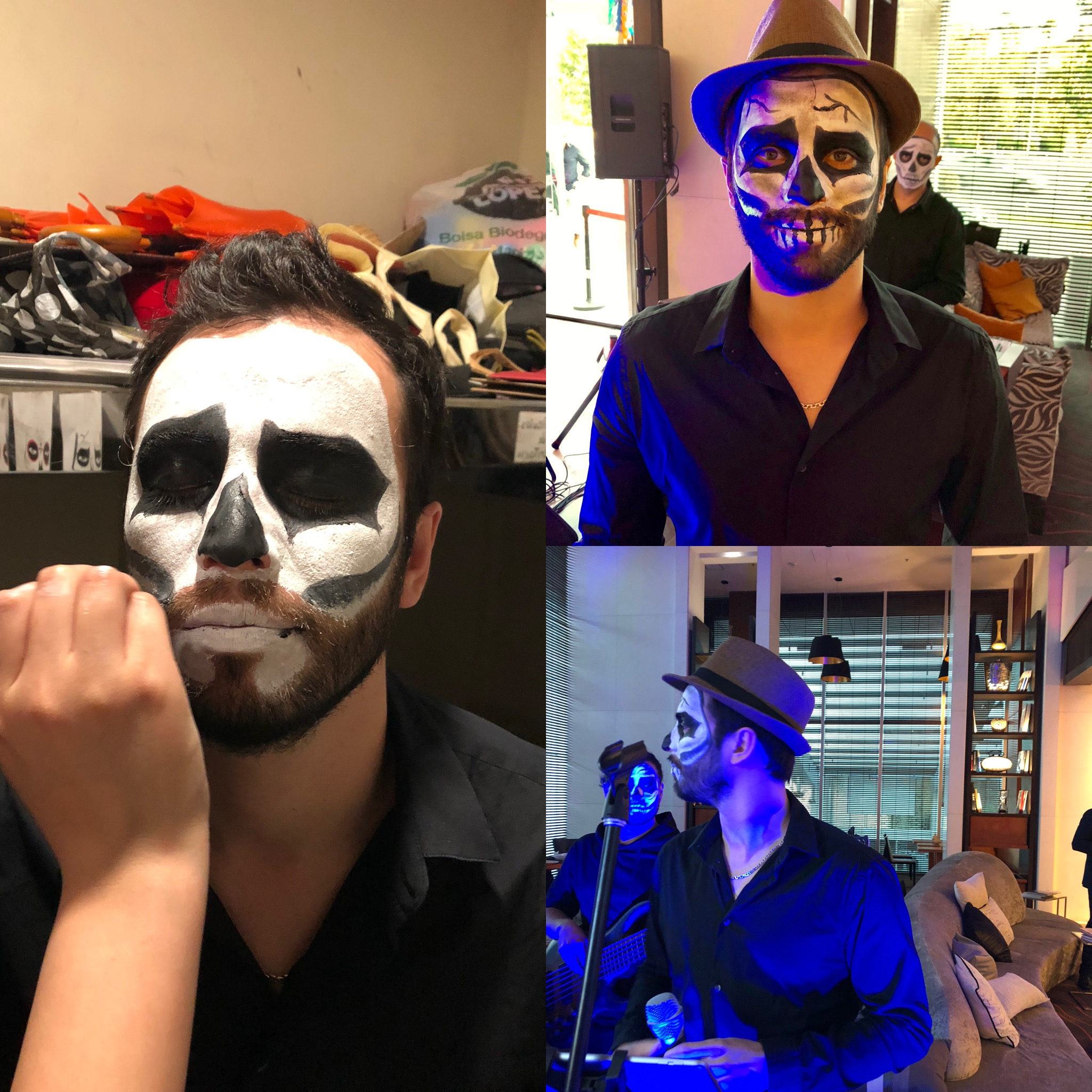 musicos hallowen eventos chile