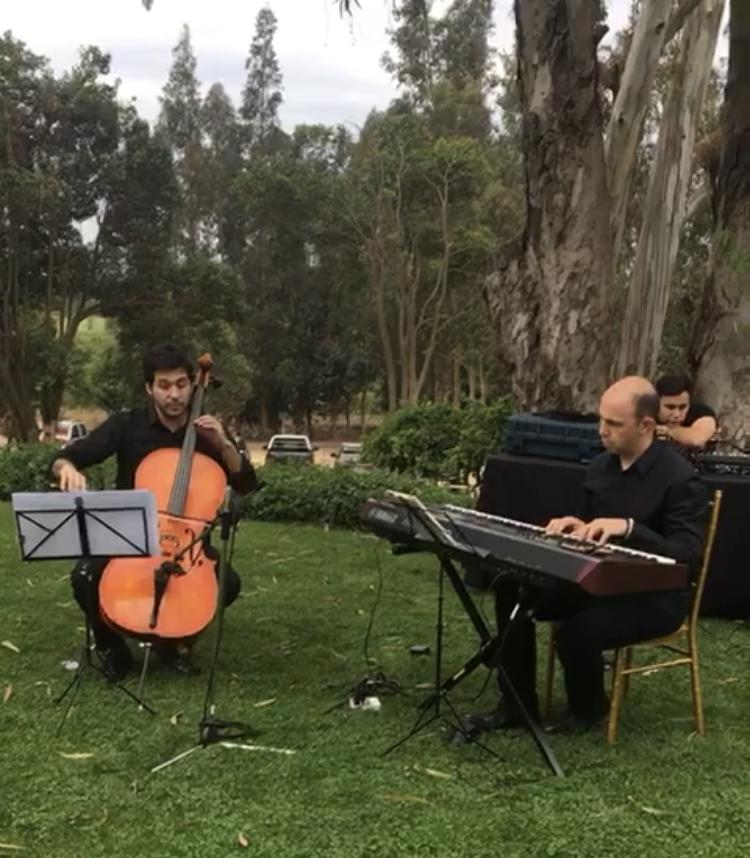 musicos eventos matrimonios aire libre campestre piano cello