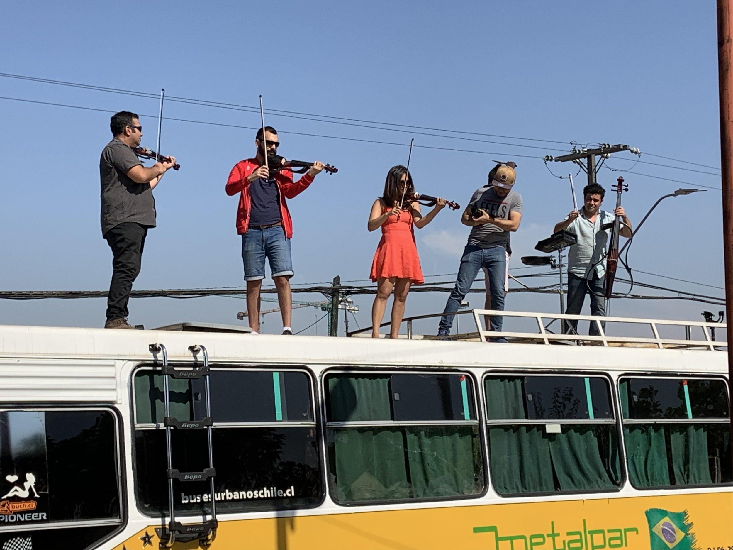 Electroclásicos, Cuarteto de cuerdas eléctrico en Chile