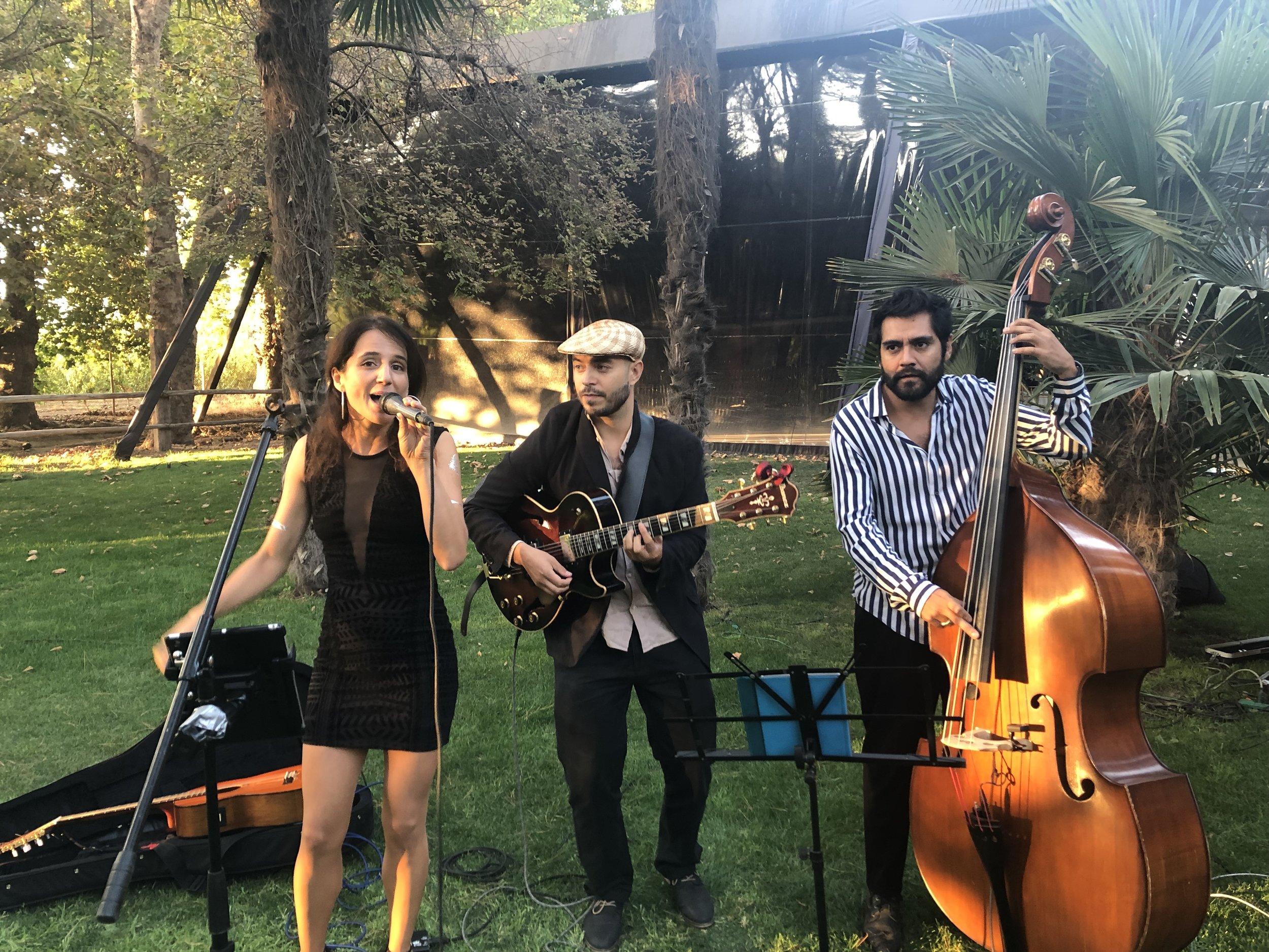 Músicos en vivo para eventos Agez Chile