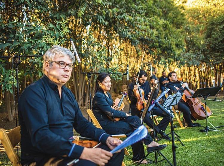 Cuarteto de cuerdas, Musicos Agez Chile Foto: Ricardo Egaña