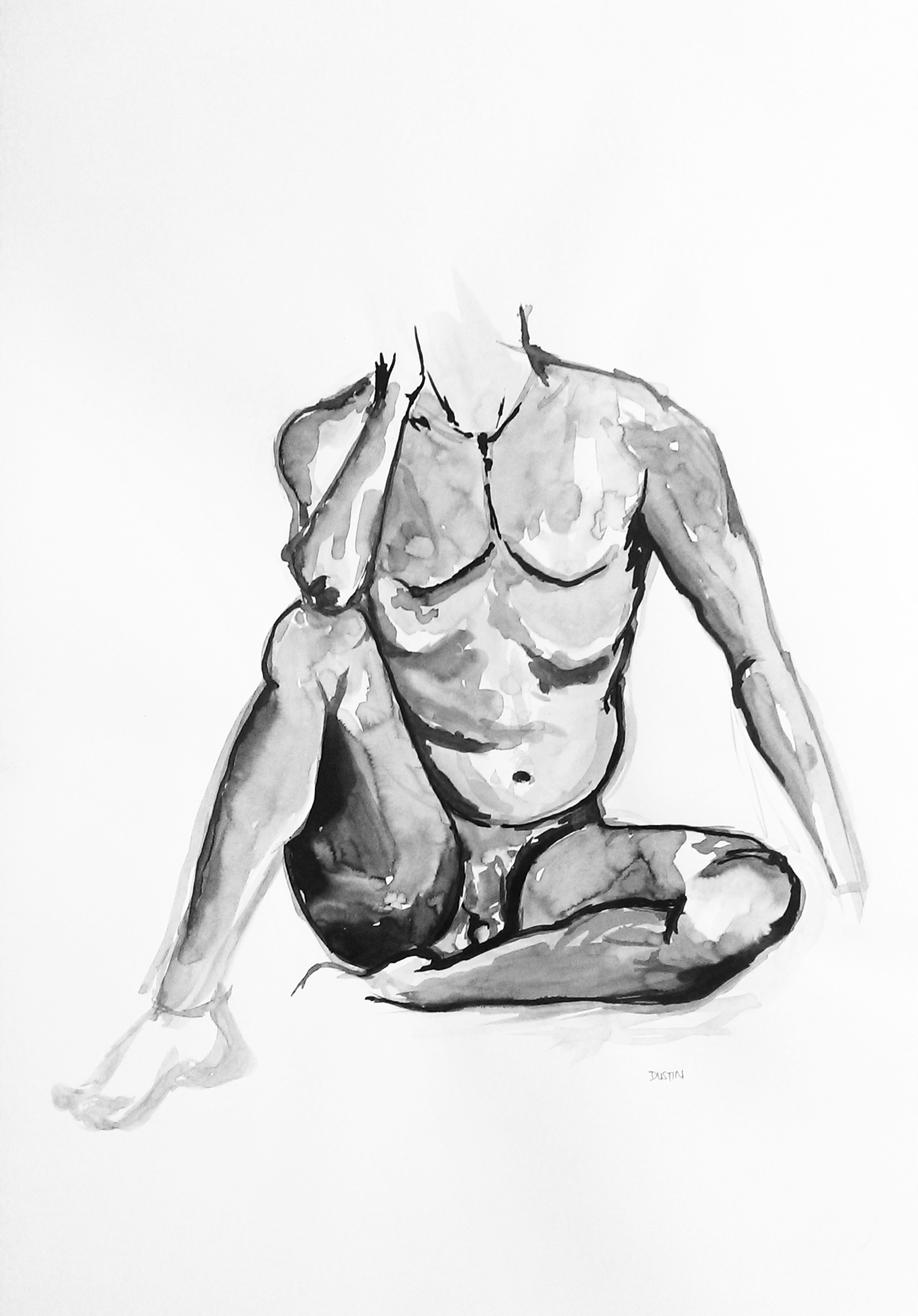 India ink on paper 2011