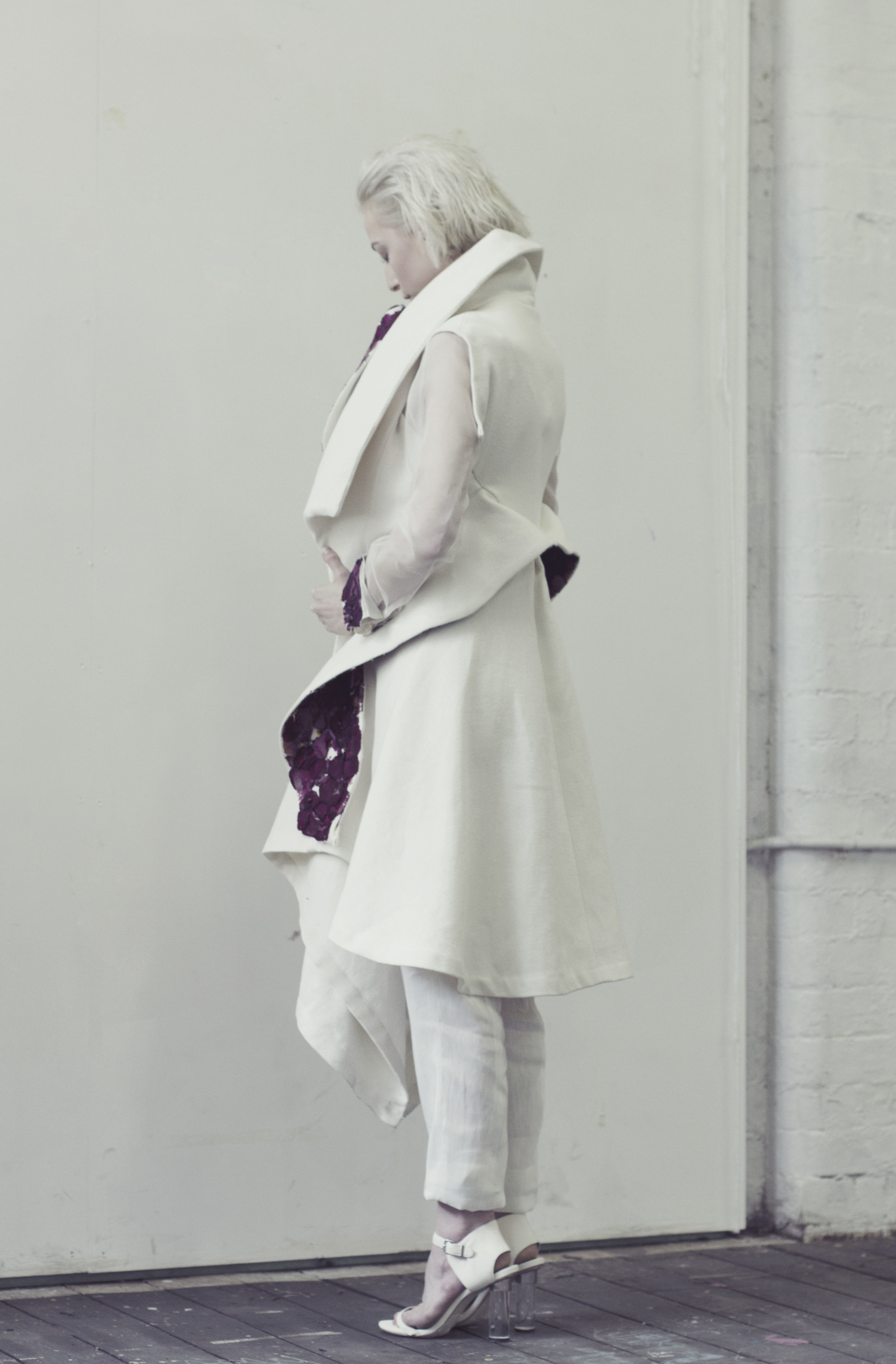 Bonded Overcoat & Slim Pants