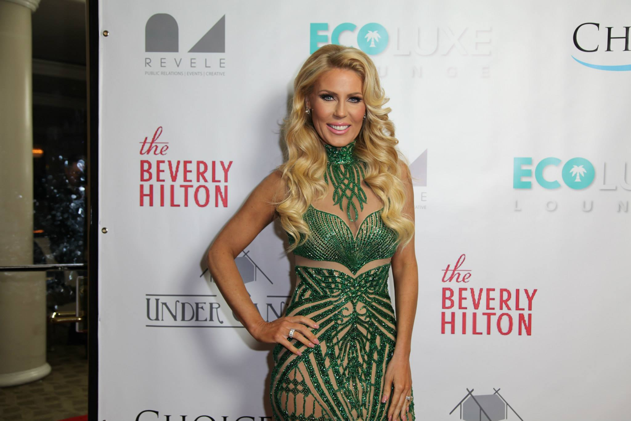 Hostess and Real Housewives of Orange County star Gretchen Rossi.
