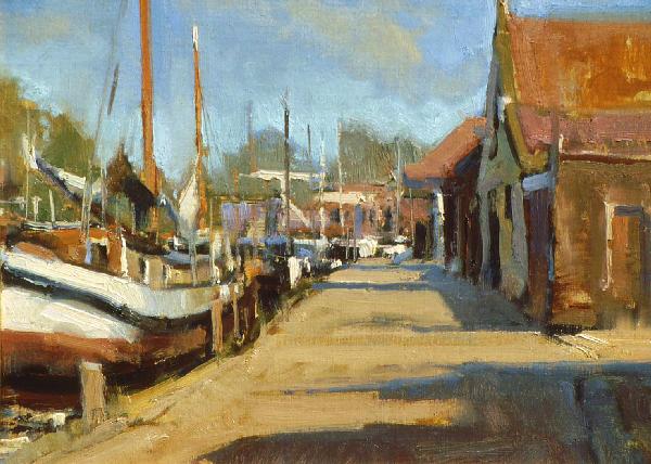 04_saturday-morning-enkhuizen-holland-12x16_oil-europe-boats.jpg.jpg