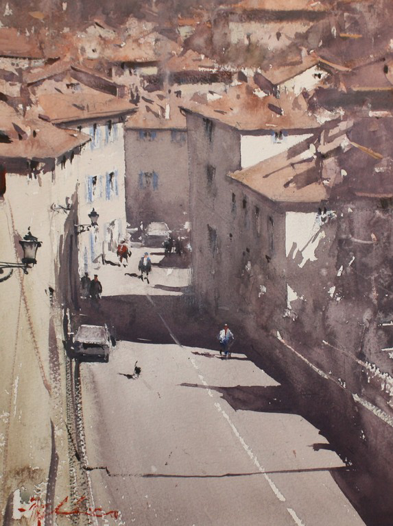 Downtown in Nontron, France 33x25_Web.jpg