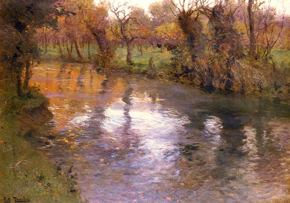 Frits Thaulow  1847 – 1906