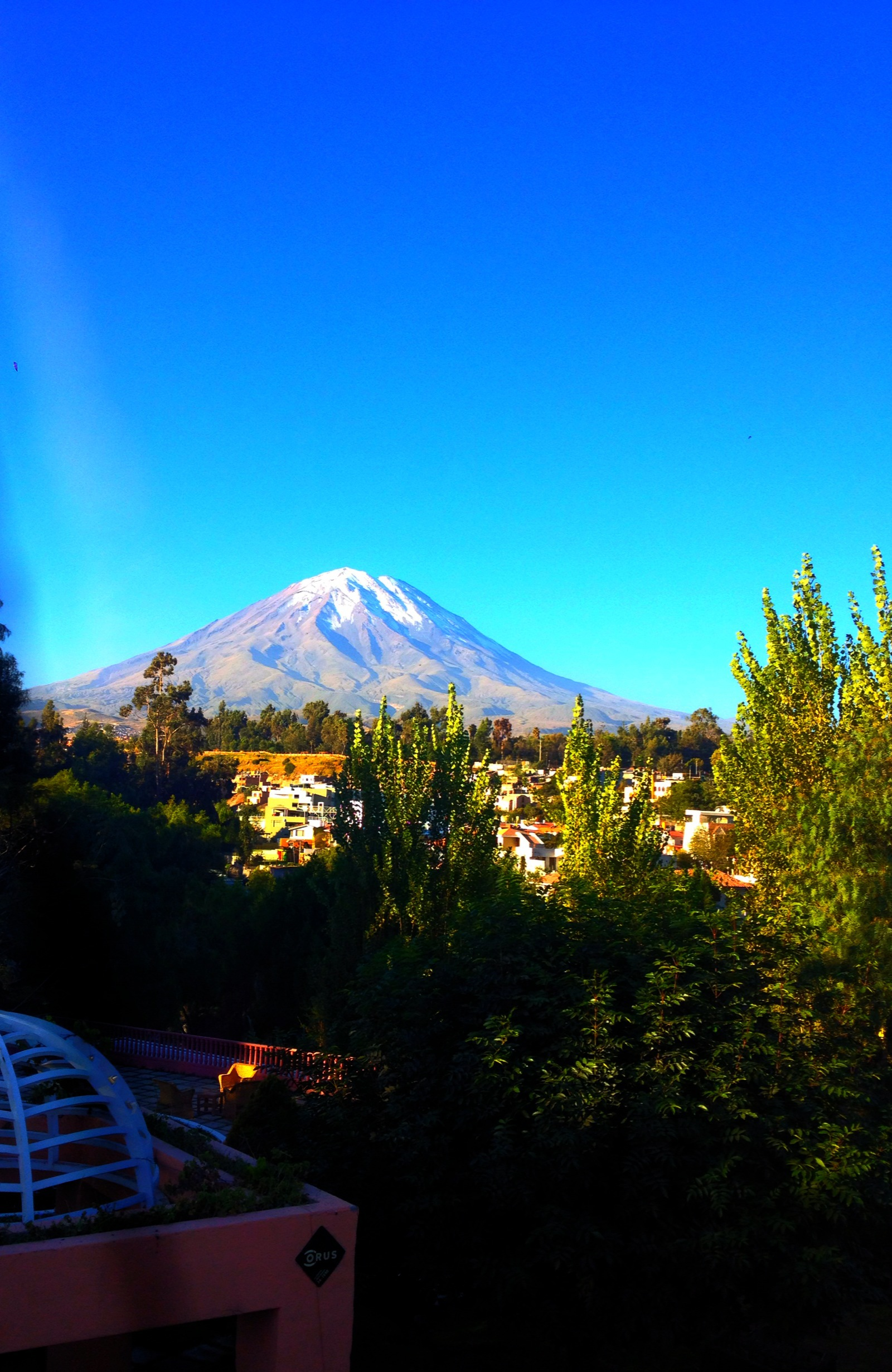 I listened last week while I was in the park.   Bianca T. Arequipa, Peru