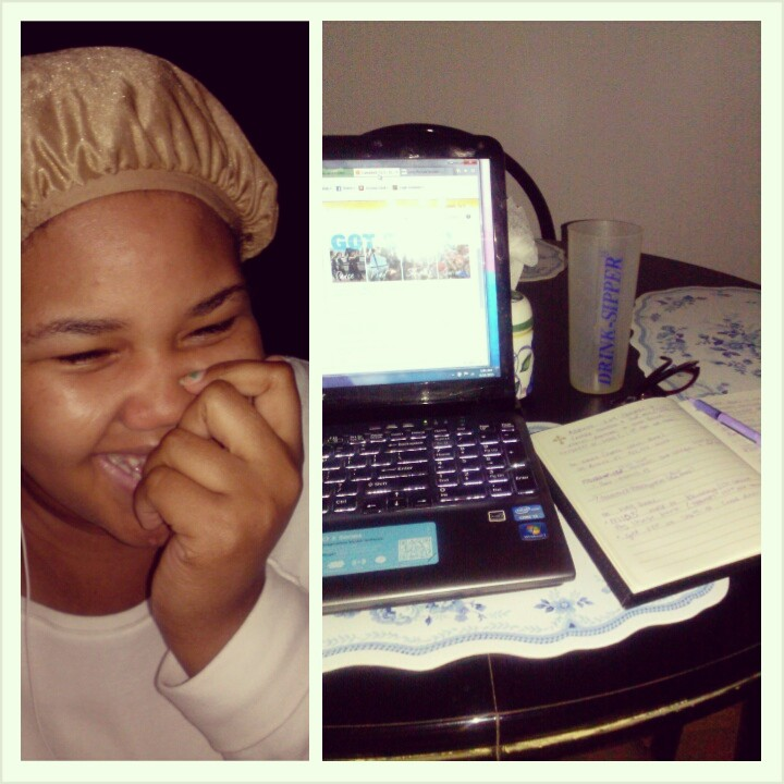 Preparing for a job interview and relaxing before bed while listening to The Read!  Tyeshea C. New York, New York, USA