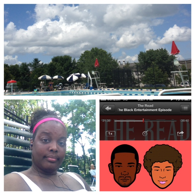 Listening poolside to the latest read. Thank you for always speaking out against rape culture and especially for standing up for Rachel Jeantel.   Kenya F. Silver Spring, Maryland, USA