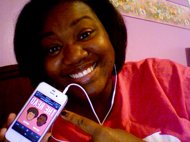 I'm getting my LIFE from KidFury, Crissle AND Chescaleigh before work :)   Brittany K. Southfield, Michigan, USA