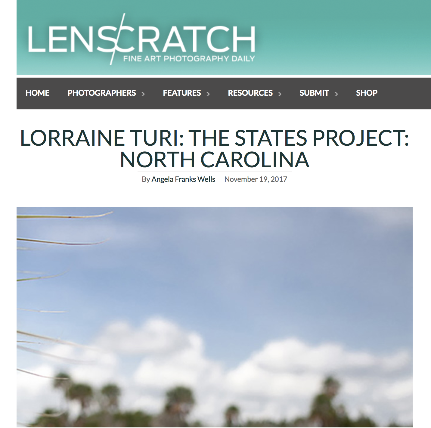 Last Seen apart of the Lenscratch: States Project: North Carolina