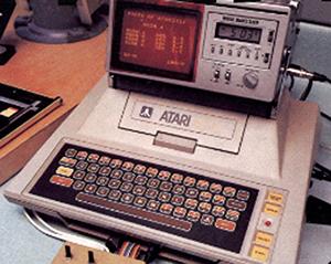 My Atari in the darkroom