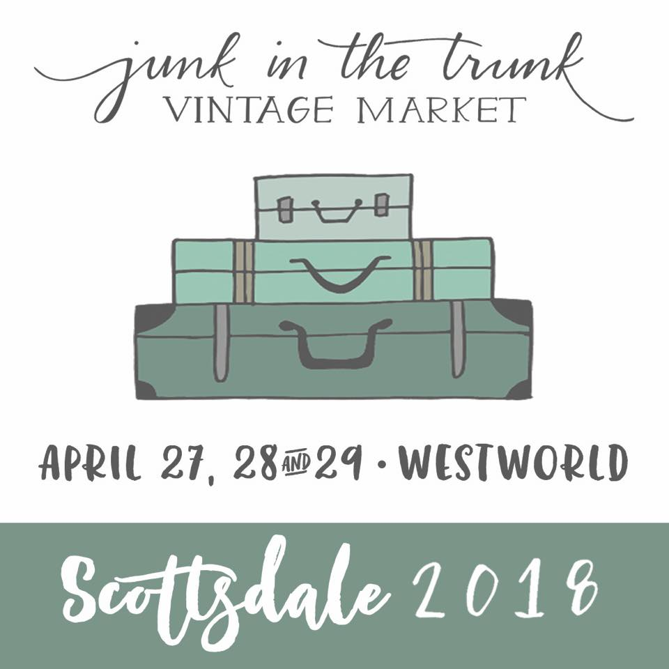 Come see all The Salvage Co.'s great vintage at Junk in the Trunk Vintage Market • Westworld