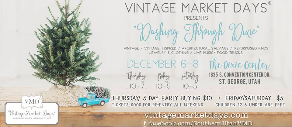 Vintage Market Days of Southern Utah & The Salvage Co.