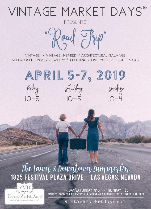 The Salvage Co. and Vintage Market Days of Southern Nevada Spring 2019