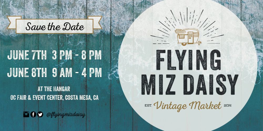 The Salvage Co. and Flying Miz Daisy Vintage Market in Costa Mesa California
