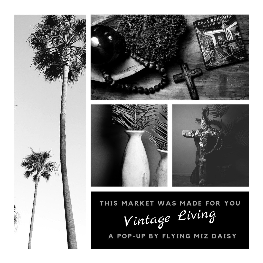 The Salvage Co. is coming to Laguna Niguel for Vintage Living. A pop-up by Flying Miz Daisy.