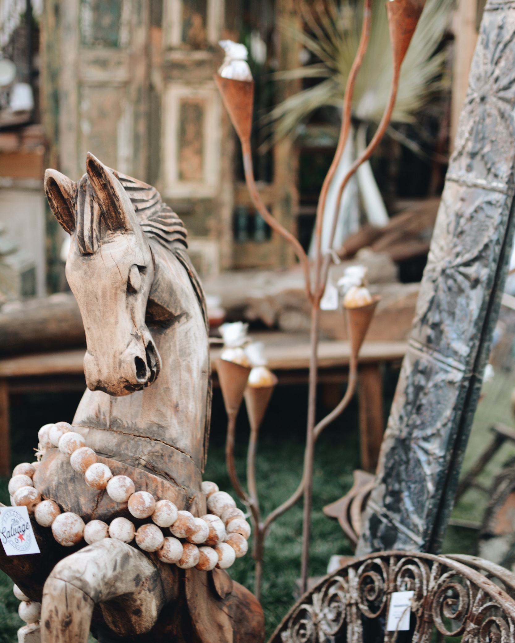 Gorgeous home decor from The Salvage Co