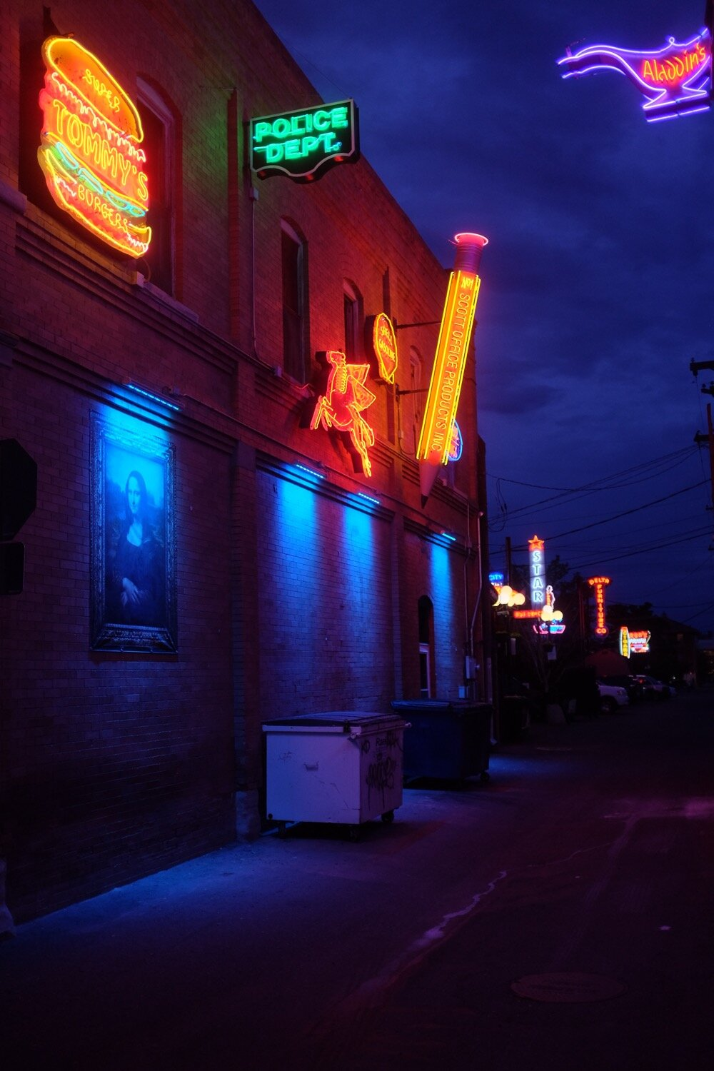 Gorgeous neon signs.