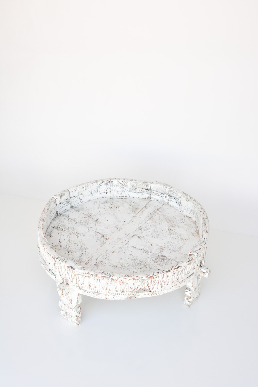 White Washed Chakki Tables