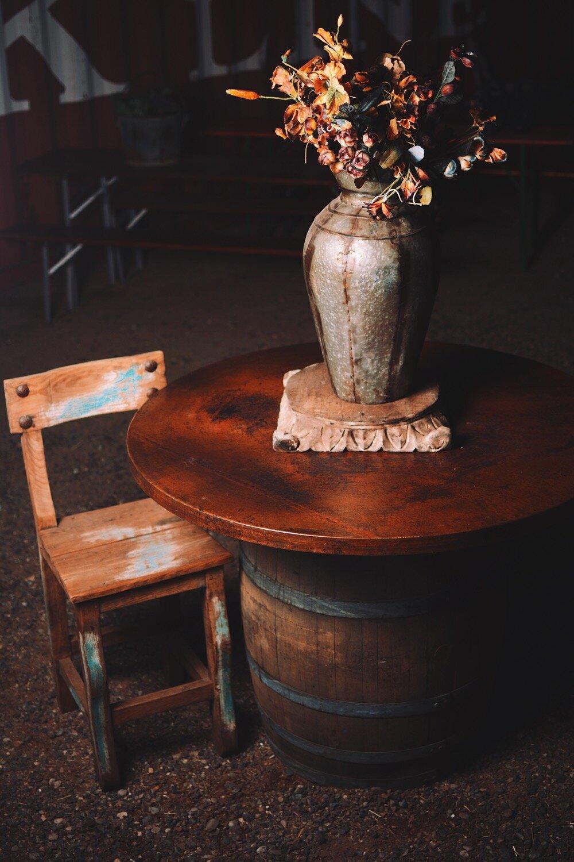 Vintage Copper Top Table