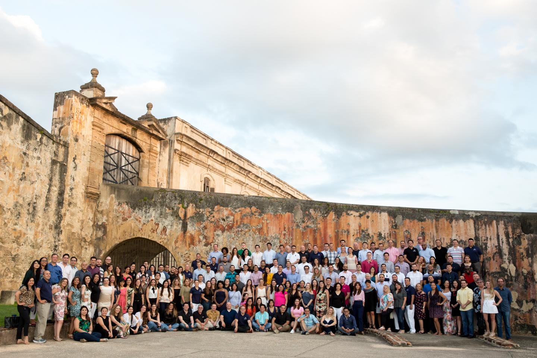 180 people group photo