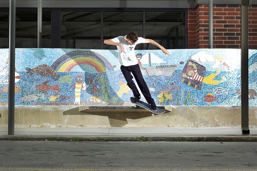 Nick Guertin: Backside Smith  Cleveland, Tennessee  Photography: Brian Mcdonald