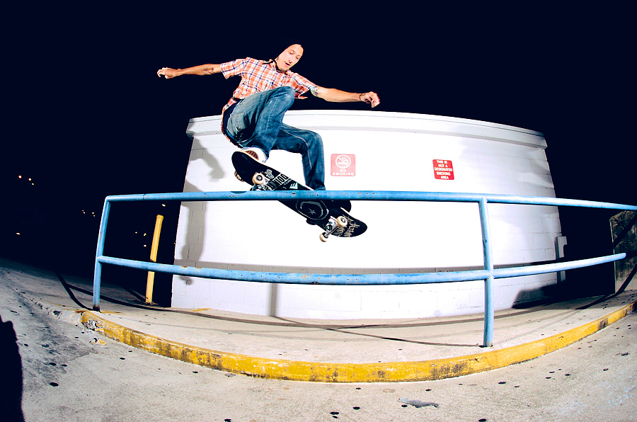Ryan Cooper: Frontside Smith  Chattanooga, Tennessee  Photography: Brian Mcdonald