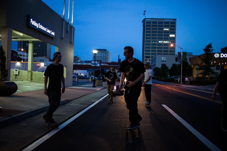 Downtown Chattanooga, TN  Photography: R.J. Hess