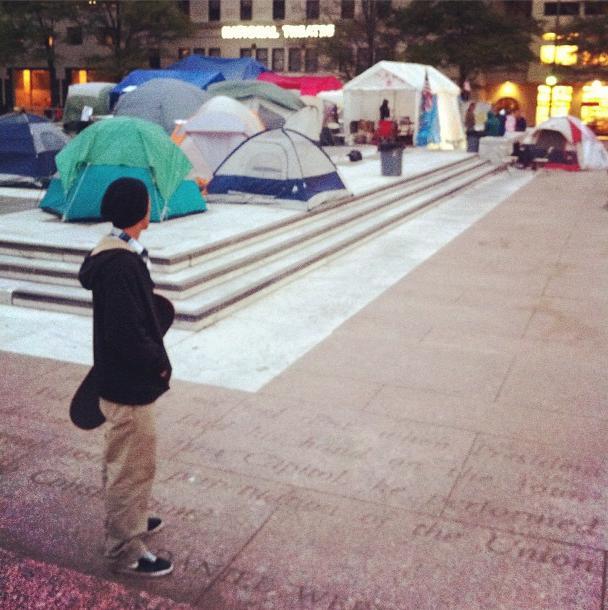Occupy Pulaski Park
