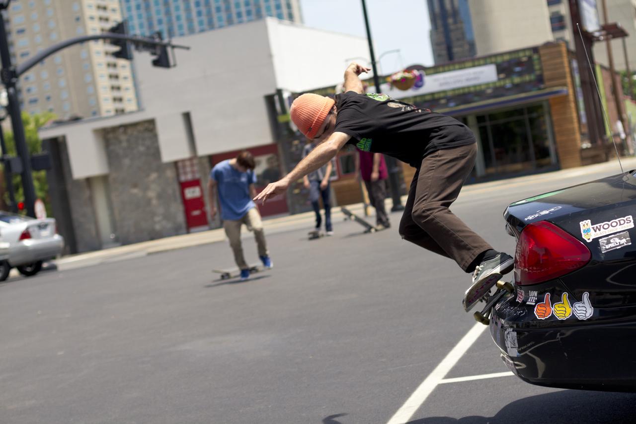 Shane Powell: bumper grind  Nashville, Tennessee  Photography: David Morico