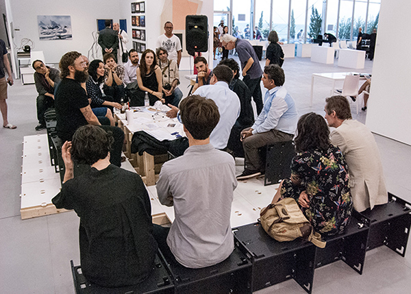 Panel discussion as part of Moses Transpo , 2013, UNTITLED Art Fair, Miami Beach