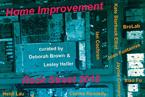 "Home Improvement    JUN 06 - 07, 2015  BroLab will have a project up as part of "" Home Improvement "" on Rock Street during the Bushwick Open Studios in Brooklyn, NY."