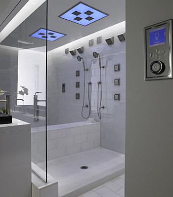Low-maintenance shower pans