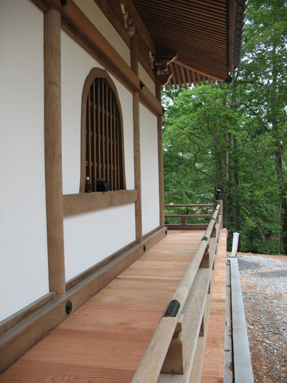Relocating a Japanese Temple