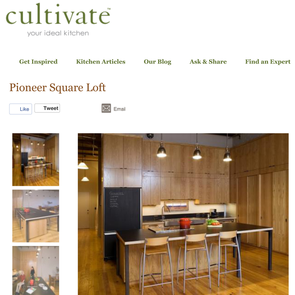 Pioneer Square Featured on Cultivate.com