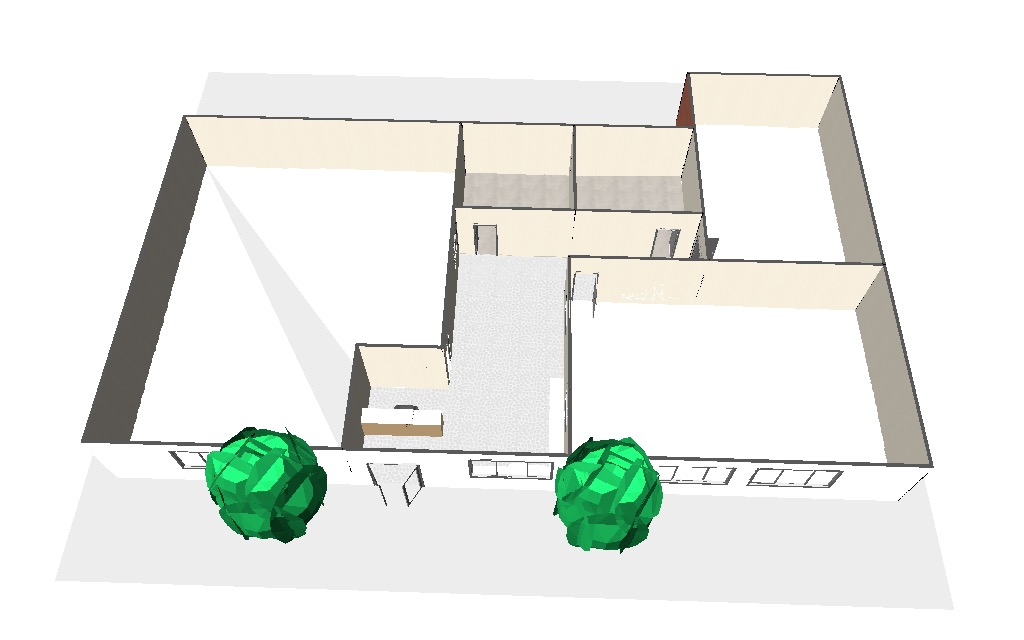 The Academy 3d layout